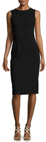 Dolce & Gabbana Neck Broche Sheath Dress
