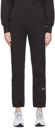 A.P.C. Black JJJJound Edition Justin Lounge Pants