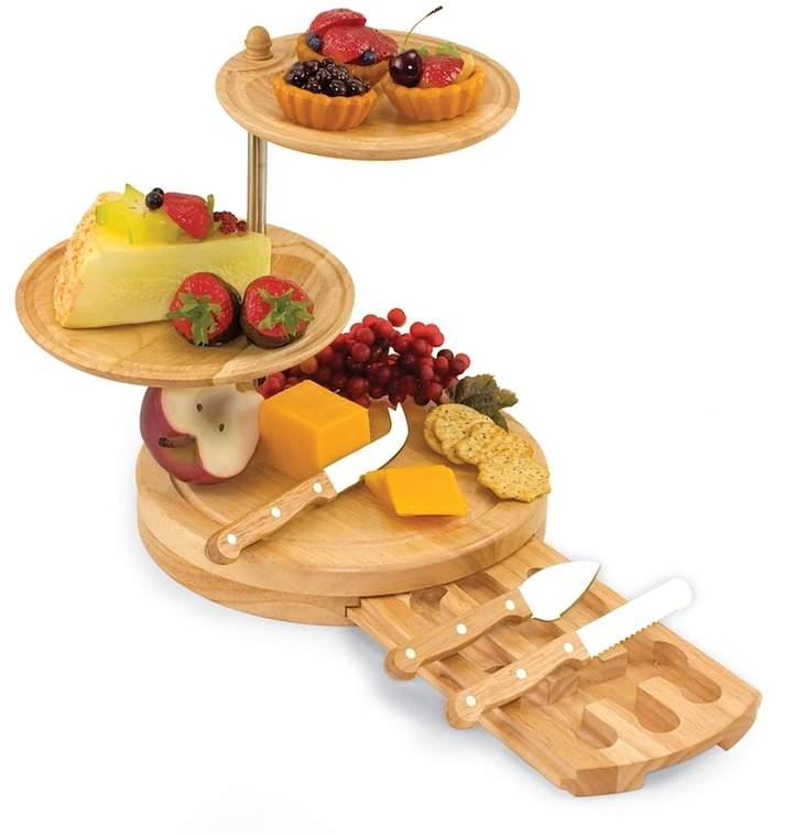 Picnic Time Regalio 3-Tier Cheese Tray