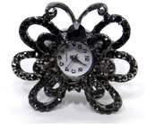 Americana Fashion Rhinestone Encrusted Ring Watches