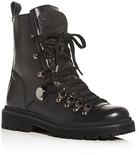 Moncler Women's Berenice Lug Sole Boots