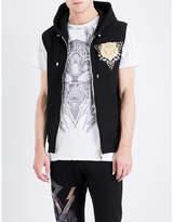 Balmain Badge-embellished Cotton Vest