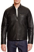 Cole Haan Leather Two-In-One Jacket