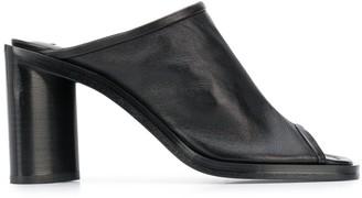 Acne Studios Open-Toe Block Heel Mules