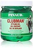 Clubman Style Gel For Men 16 oz. Jar (Pack of 8)