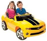 Bed Bath & Beyond Kid Motorz Chevrolet Racing Camaro 2-Seater 12-Volt Ride-On in Yellow