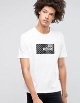 Love Moschino Dot Logo T-shirt