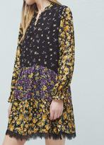 Mango Outlet Floral print dress