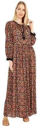 Johnny Was Maxi Peasant Dress (Multi A) Women's Dress