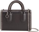 Stella McCartney Falabella box clutch - women - Cotton/Polyester/Polyurethane - One Size