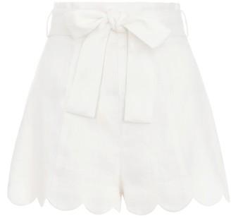 Zimmermann Zinnia High Waisted Shorts