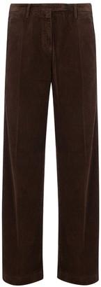 Massimo Alba Velvet Ribbed Pants