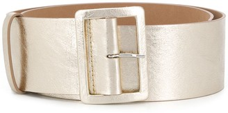 MSGM Chunky Metallic Belt