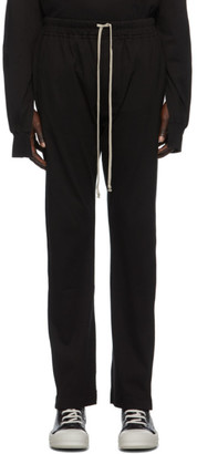 Rick Owens Black Berlin Lounge Pants
