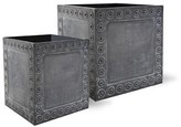 The Well Appointed House Cromwell Garden Planter in Antique Faux Lead-Available in Three Different Sizes