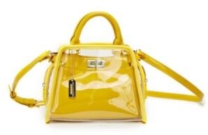 Like Dreams Clear Retro Colorway Handbag