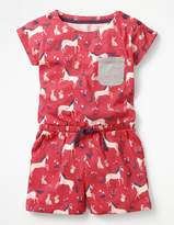 Boden Colourful Jersey Romper