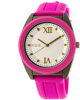 Crayo Unisex Pink Strap Watch-Cracr3607