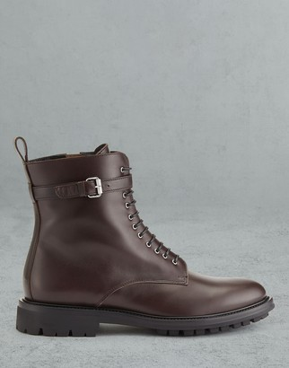 Belstaff Finley Leather Ankle Boots