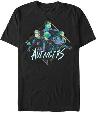 Marvel Men Avengers Endgame Pop Art The Rad Three Short Sleeve T-Shirt