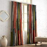 Pier 1 Imports Velvet Sari Patchwork Curtain