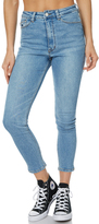 RES Denim Harrys Hi Crop Womens Jean Blue
