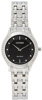 Citizen GA1060-57E Silver-Tone & Black Eco-Drive Watch