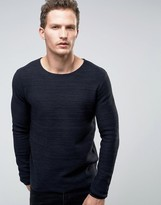 Selected Sweater in Waffle Texture