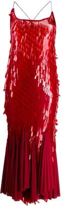 Atu Body Couture Fish-Tail Midi Dress