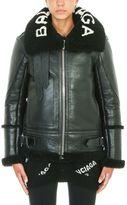 Balenciaga Shearling Aviator Jacket