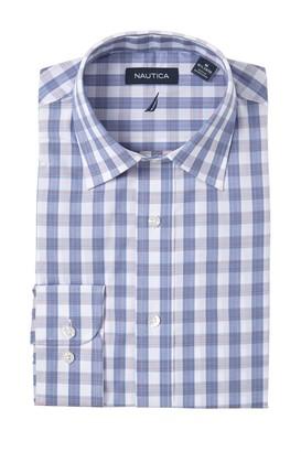 Nautica Classic Fit Plaid Dress Shirt