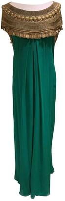 Temperley London Green Silk Dresses