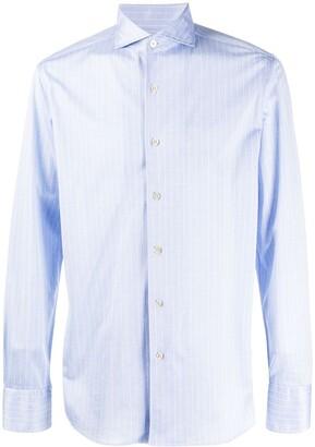 Canali Striped Regular-Fit Shirt