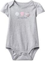 "Baby Girl Jumping Beans® ""I'm New Here"" Chicks Graphic Bodysuit"