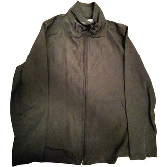 Armani Jeans Grey Cotton Jacket for Women