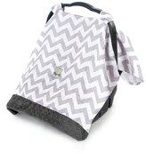 Infant Itzy Ritzy 'Cozy Happens(TM)' Muslin Canopy & Tummy Time Mat