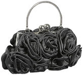Coloriffics Satin Handbag with Rosettes