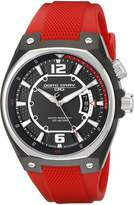 Jorg Gray Men's JG8300-12 Analog Display Quartz Red Watch