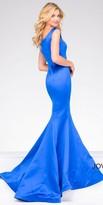 Jovani Sweetheart Satin Trumpet Prom Dress