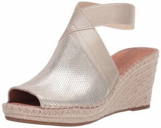 Gentle Souls by Kenneth Cole Women's Charli Elastic Ankle Strap