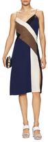 Diane von Furstenberg Frederica Silk Asymmetrical Slip Dress
