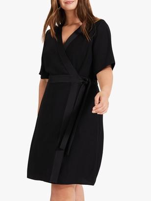 Studio 8 Monica Wrap Dress, Black