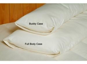 Holy Lamb Organics Organic Cotton Sateen Body Pillow Case Full Size Bedding