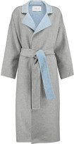 Derek Lam 10 Crosby Reversable wool-blend felt trench coat