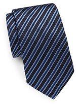 Eton Striped Italian Silk Tie