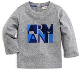 Armani Junior Armani Boys' Modernist Logo Tee - Sizes 12-36 Months