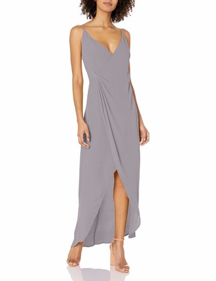 ASTR the Label Women's Penelope Wrap Maxi Dress