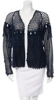 Ulla Johnson Fringe-Trimmed Clarice Cardigan w/ Tags