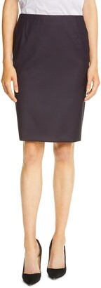 HUGO BOSS Vileana Mini Houndstooth Skirt
