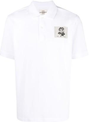 Kent & Curwen Logo Patch Short-Sleeved Polo Shirt